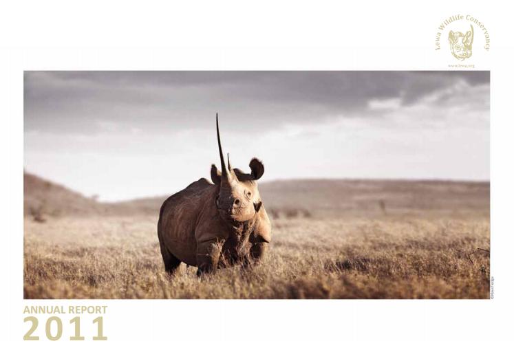 2011 Lewa Wildlife Conservancy Report