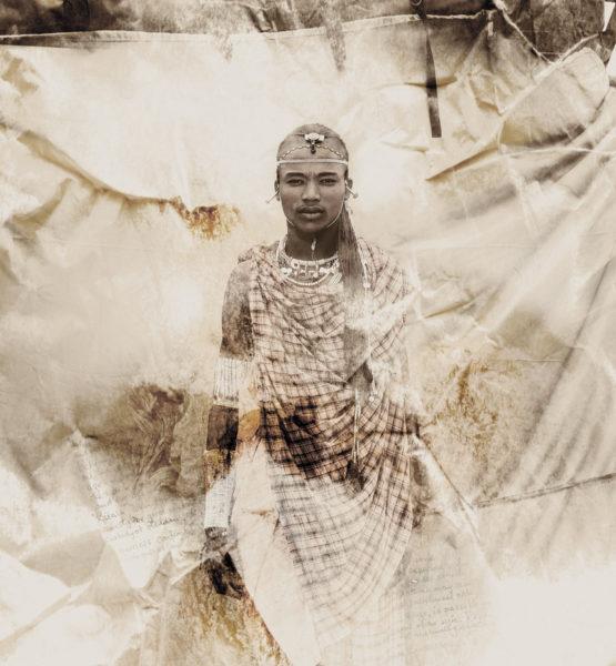 Olesikoki Masai Tribe portrait limited edition print by Klaus Tiedge