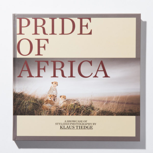 Coffee table book Pride of Africa African Wildlife by Klaus Tiedge