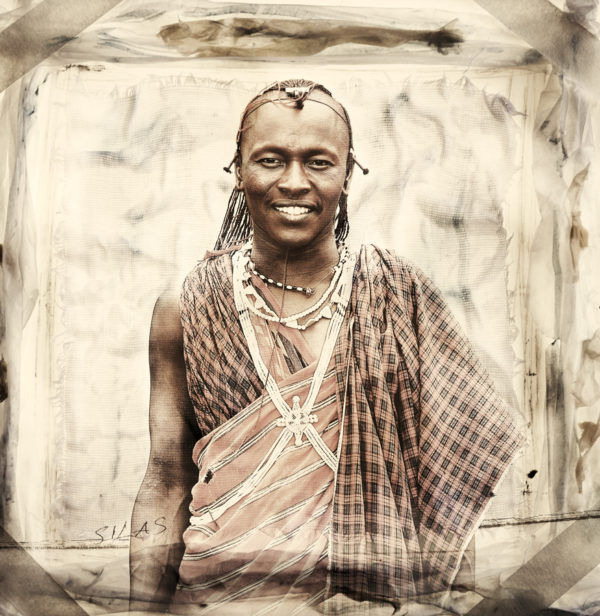 Silas Masai Portrait limited edition print by Klaus Tiedge