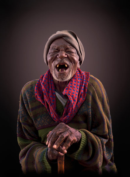 Ngupa Himba Tribe portrait old man open edition print by Klaus Tiedge