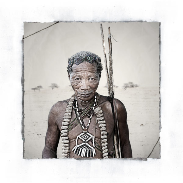 Gubi San Tribe portrait limited edition fine art print by Klaus Tiedge