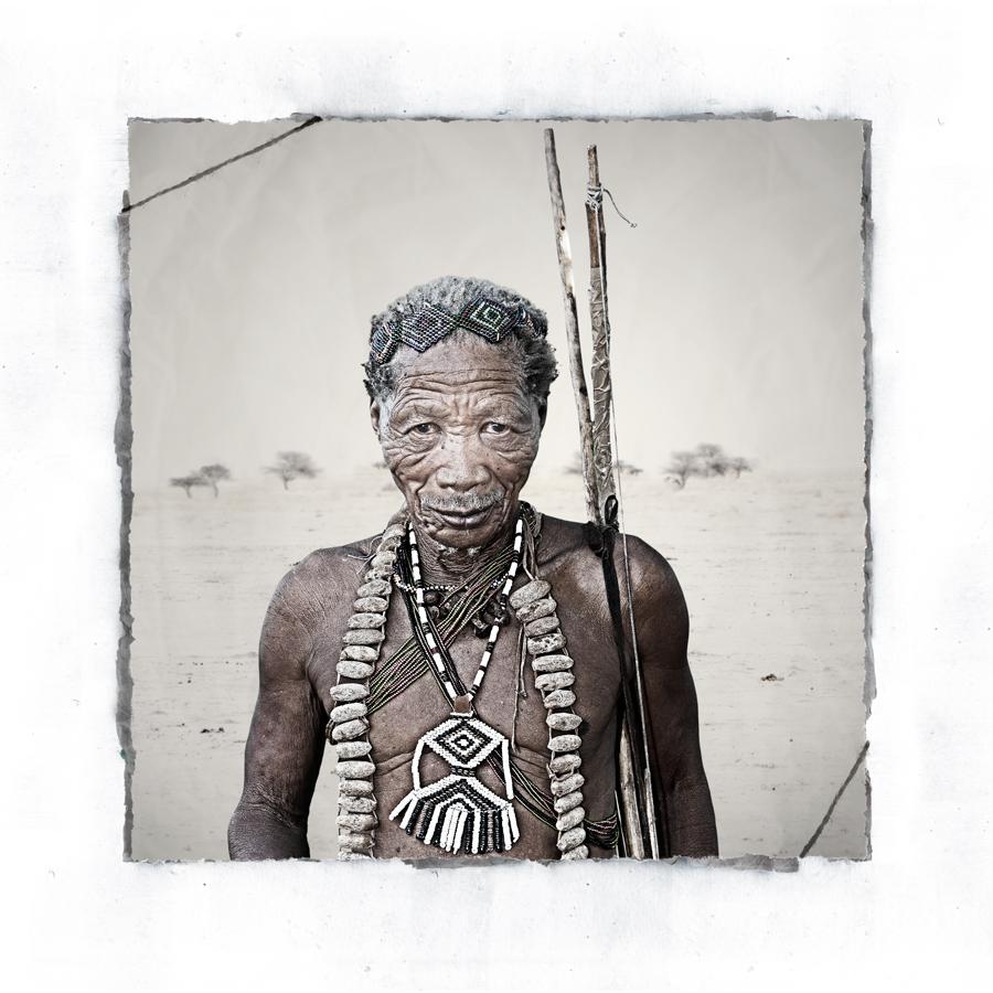 Gubi San Tribe portrait limited edition fine art print by Klaus Tiedge