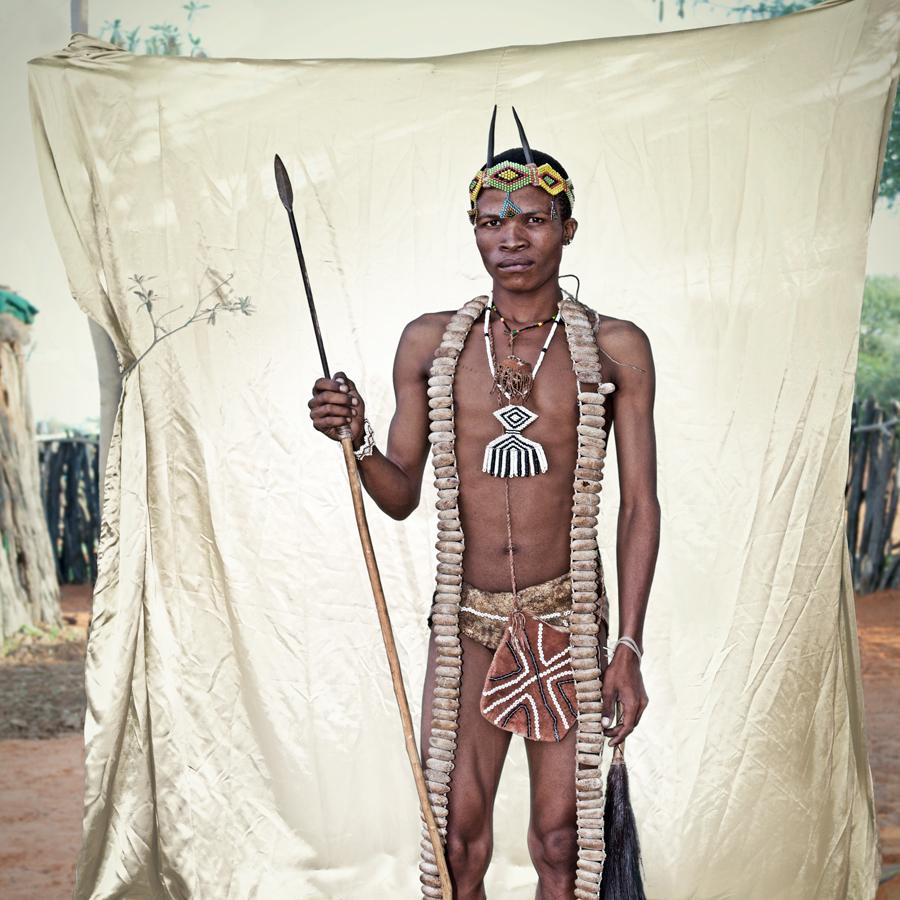 Iaoxa San Tribe portrait limited edition fine art print by Klaus Tiedge